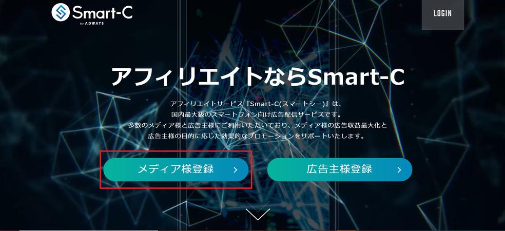 Smart-Cのトップページ